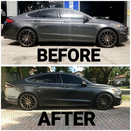 2017 Ford Fusion 2 0 Ecoboost >> Vogtland 2013+ Fusion Sport/MKZ V6 30mm lowering springs