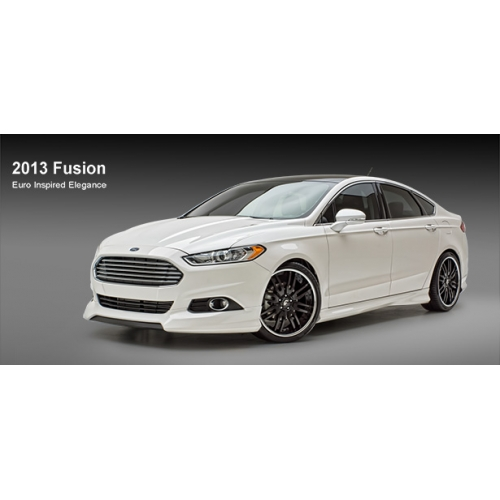 3d Carbon 2013 Fusion 4 Piece Body Kit