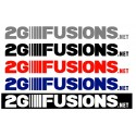 2GFusions.net 10 inch Decal
