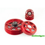 Boomba 2.0 EcoBoost Lightweight only Pulley Clearance Special. (Red)