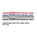 CD3 Performance 24 inch domain Vinyl