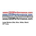 CD3 Performance 24 inch domain Vinyl
