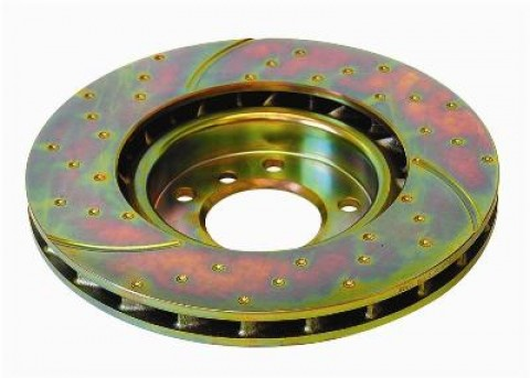 EBC Slotted/Blind Drilled Rotors Front (Pair) (SUV)