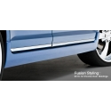 3D Carbon Chrome Lower Door Moldings
