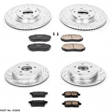 Power Stop Z23 07-10 AWD & 09-10 FWD Brake Kit (SUV)