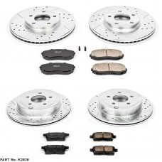 Power Stop Z23 07-08 FWD Brake Kit (SUV)