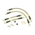 StopTech Stainless Steel Brake Lines Rear