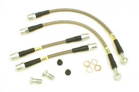 StopTech Stainless Steel Brake Lines Front (SUV)