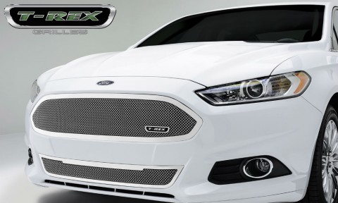 T-Rex 2013+ Fusion Upper Class Series Grille (Polished SS)