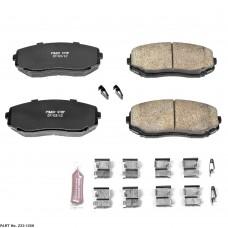 Power Stop Z23 07+ Carbon Fiber/Ceramic Front Brake Pads (SUV)